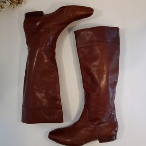 Via Spiga Soft as Butter Leather Boots New 7.5